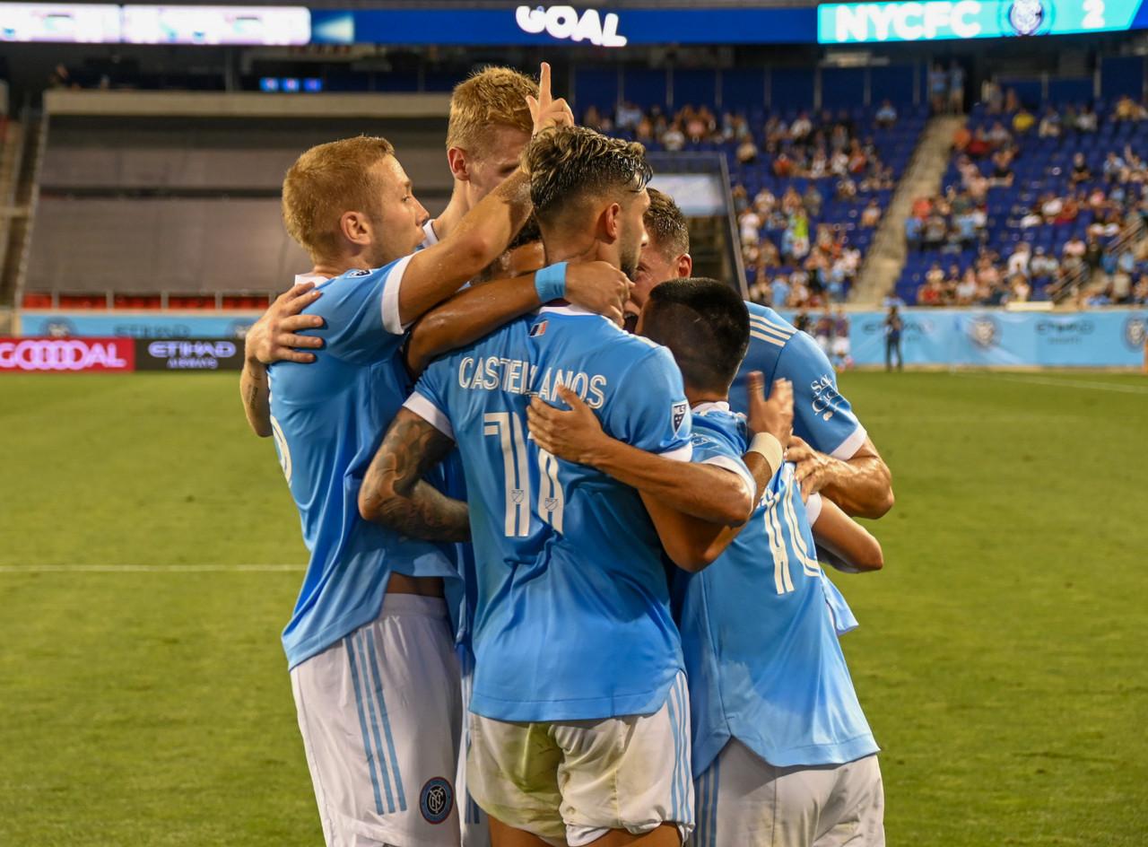 NYCFC 2-0 Inter Miami: Castellanos brace helps Boys In Blue dominate Herons