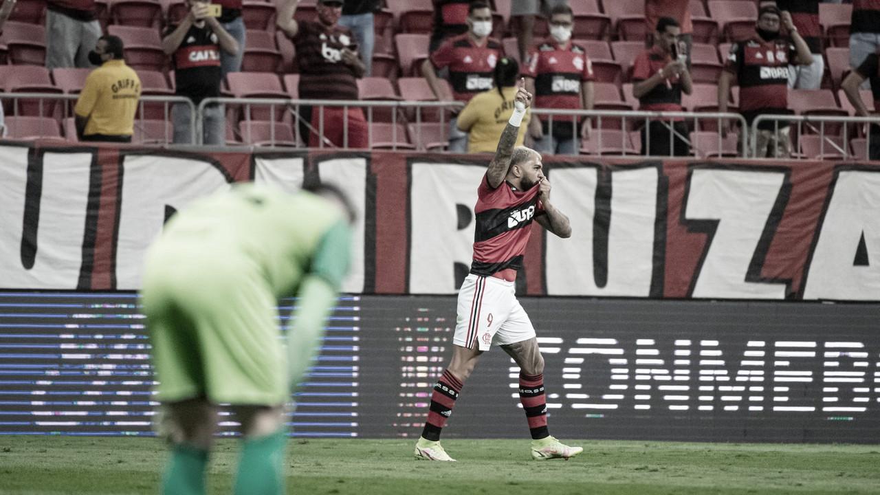 Show de Gabigol e classificação: Flamengo está nas semis da Libertadores