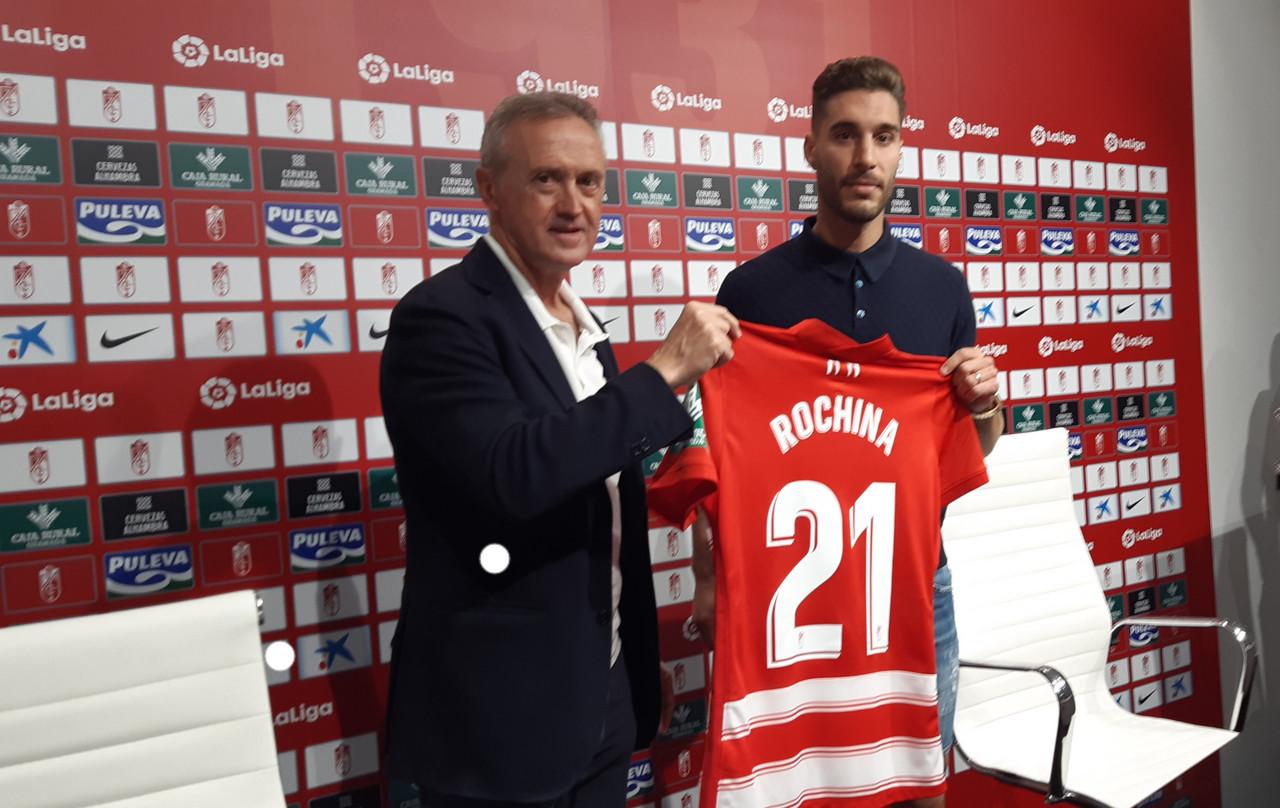 """Rochina: """"He seguido mucho al club y tengo ese sentimiento de pertenencia"""""""
