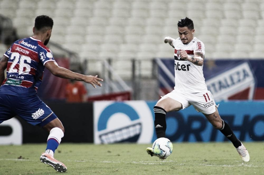 São Paulo recebe Fortaleza em jogo de ida nas quartas da Copa do Brasil
