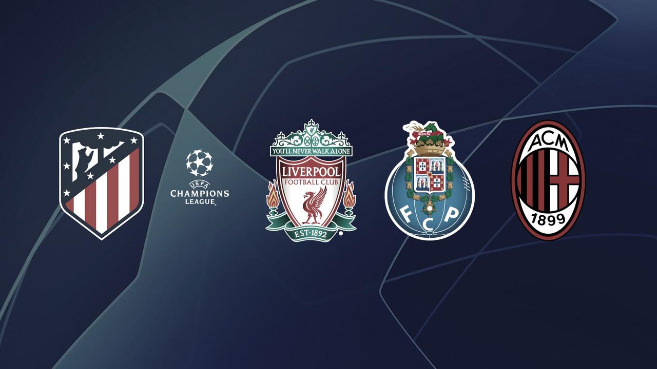 Liverpool, Porto y Milan, rivales del Atleti en la fase de grupos de la Champions