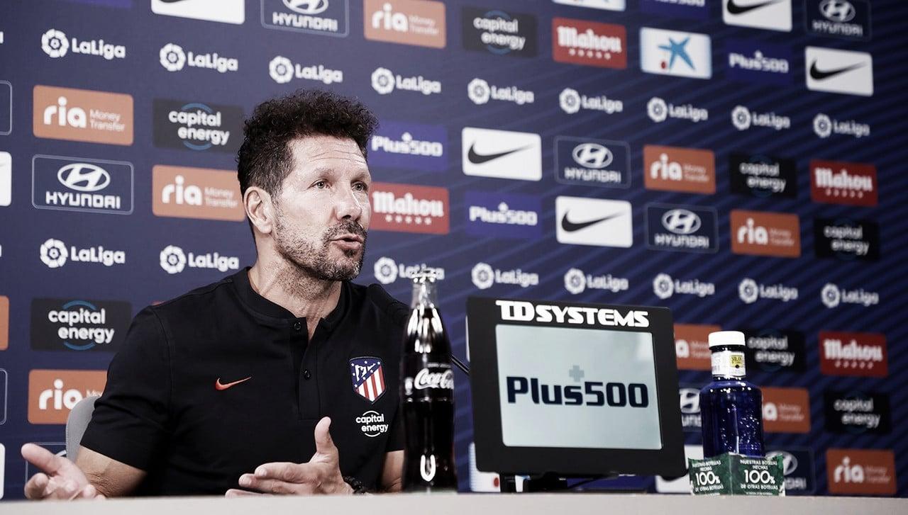 """Simeone: """"Contra el Villarreal, cualquier detalle decide la victoria para uno u otro equipo"""""""