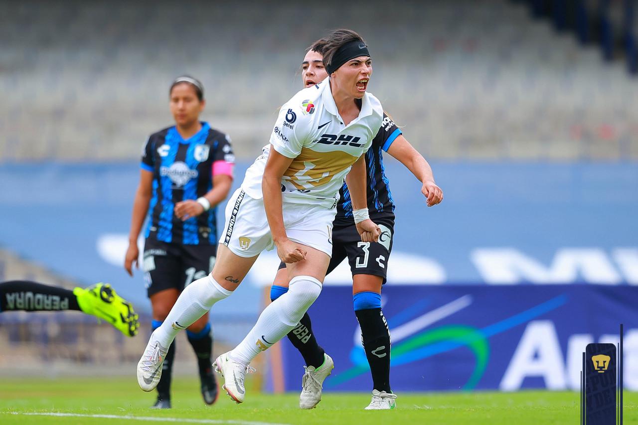 Pumas Femenil consigue su primera victoria en el Grita México 2021
