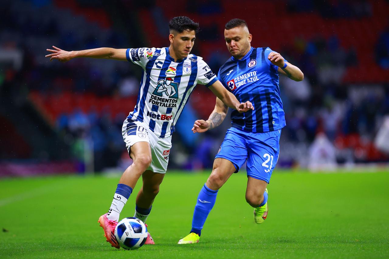 Cruz Azul rescata el empate ante Tuzos en el Estadio Azteca