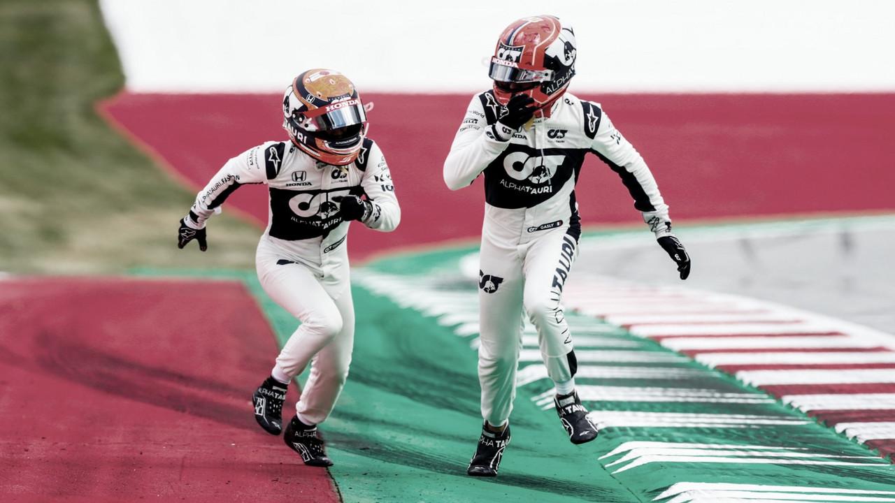 AlphaTauri mantém Gasly e Tsunoda para próxima temporada da Fórmula 1