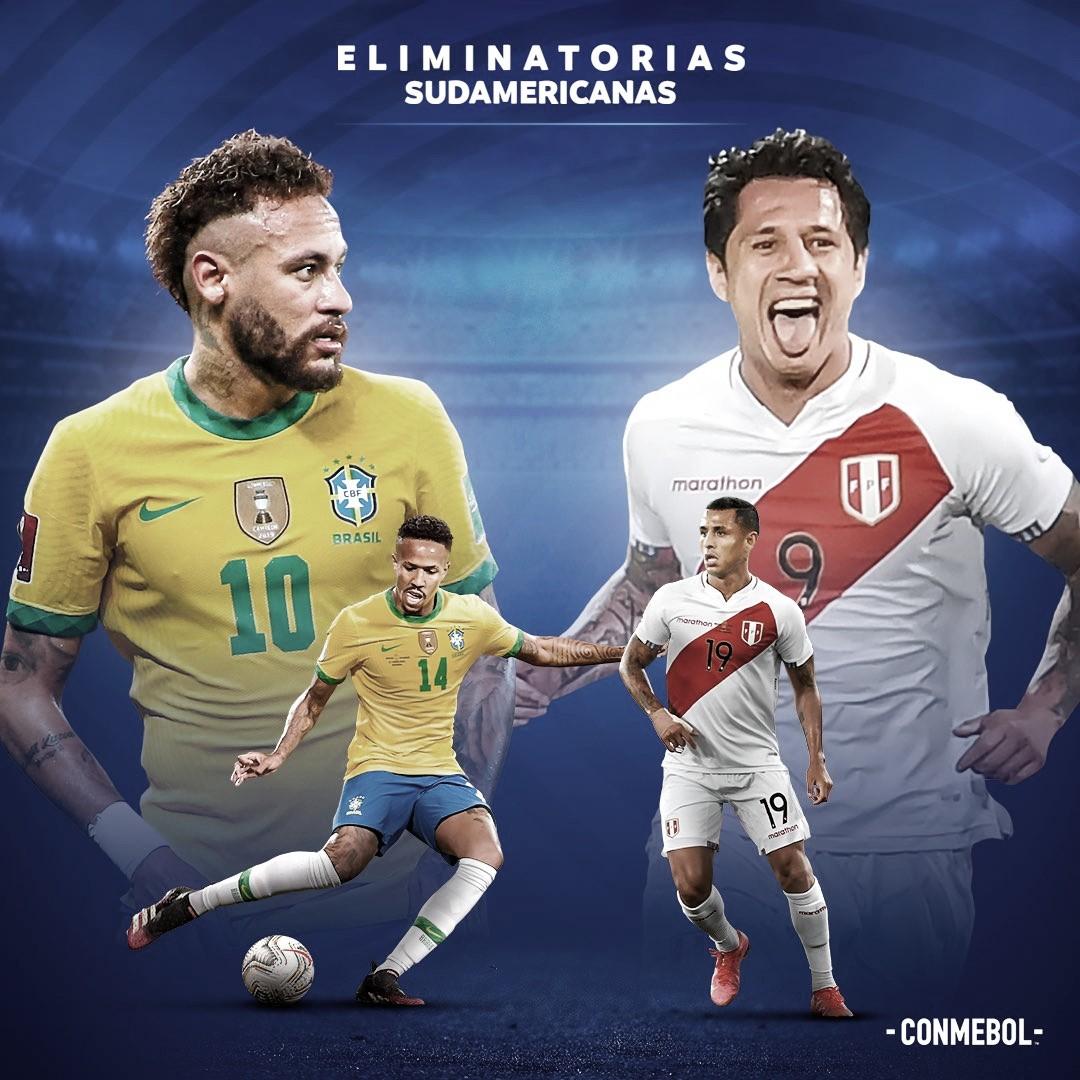 Resumen Brasil vs Perú en las eliminatorias a Catar (2-0)