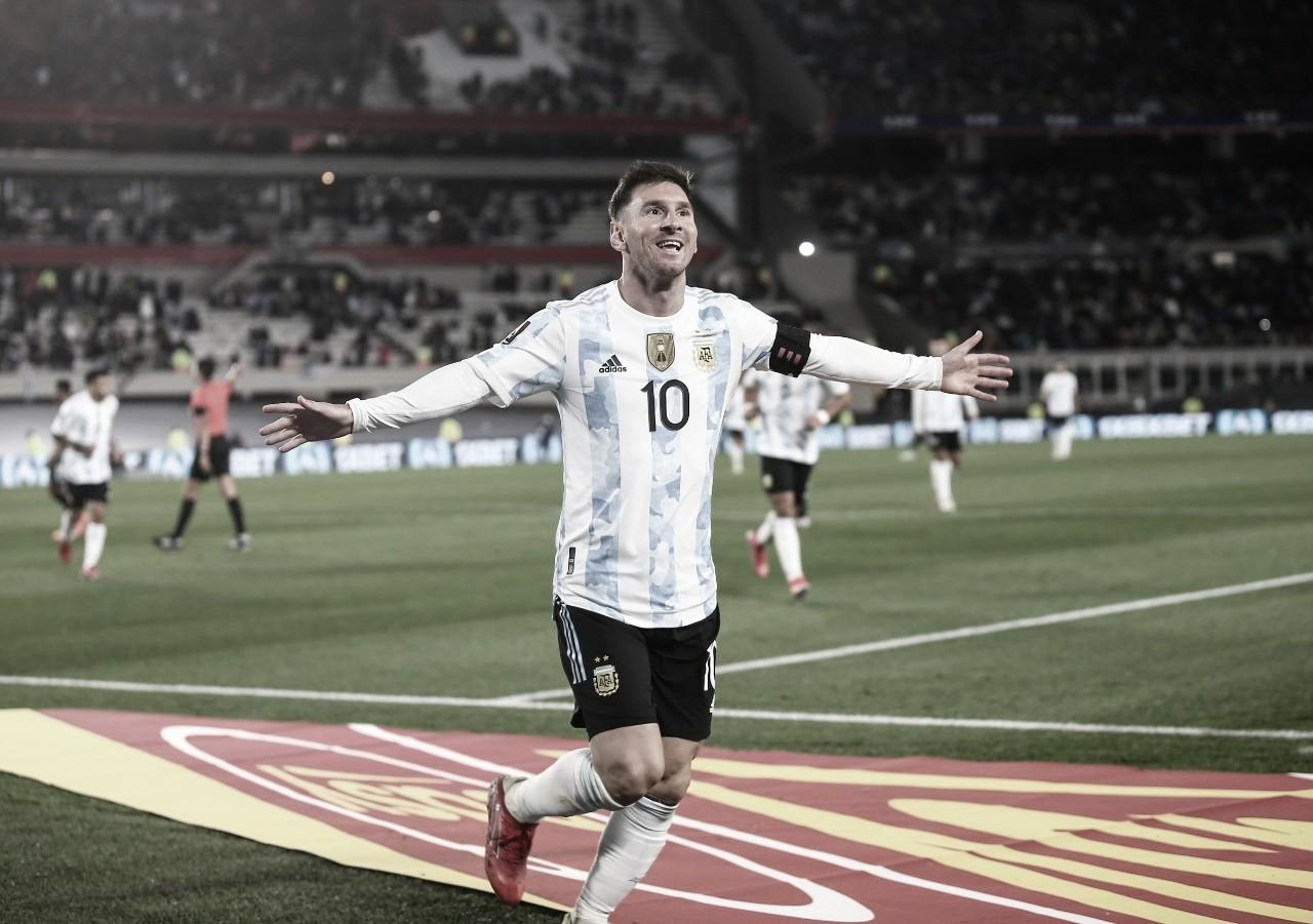 Em noite histórica de Messi, Argentina vence Bolívia pelas Eliminatórias