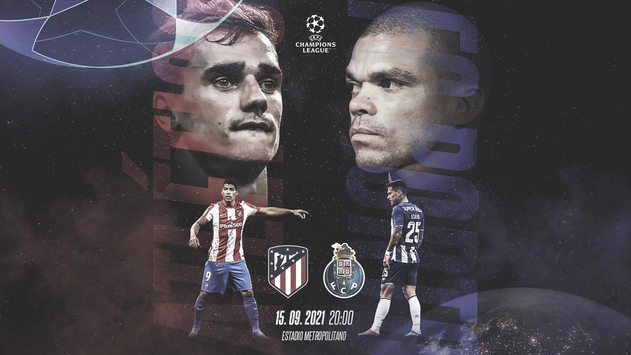 Resumen Atlético de Madrid vs Oporto en Champions League 2021 (0-0)