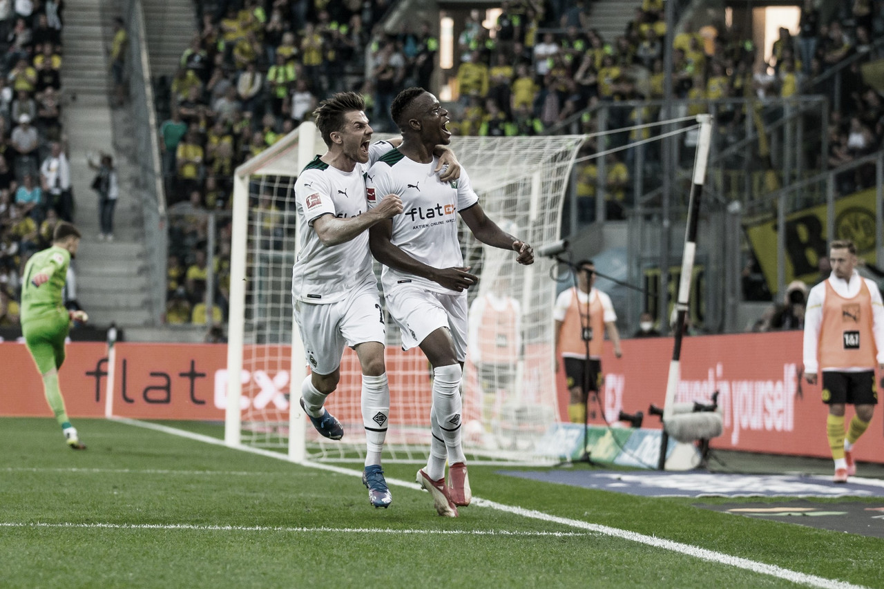 """M'gladbach vence """"Clássico de Borussias"""", e Dortmund perde chance de ser vice-líder"""