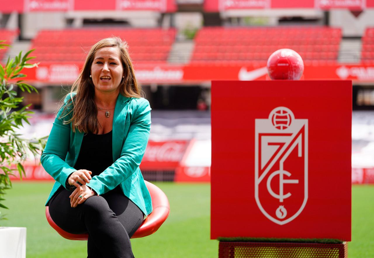 Patricia Rodríguez, nueva directora general del Granada CF