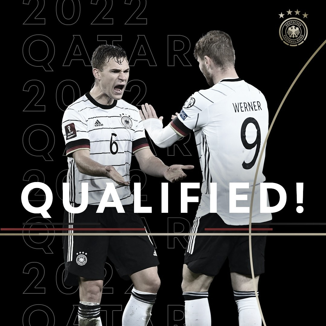 Alemania, primera clasificada al Mundial de Qatar 2022