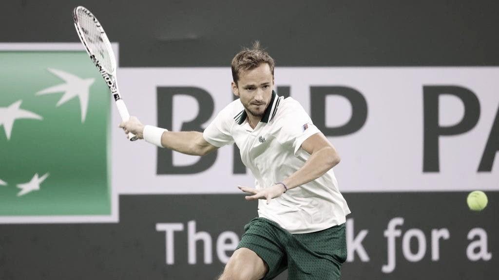 Medvedev confirma favoritismo e bate Krajinovic em Indian Wells; Rublev decepciona