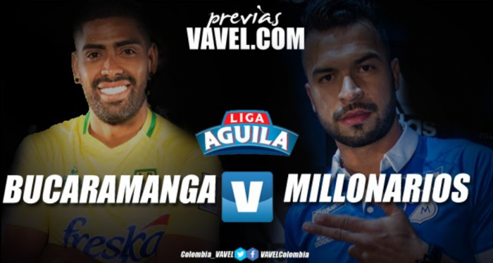 Atlético Bucaramanga - Millonarios: noche de estrenos