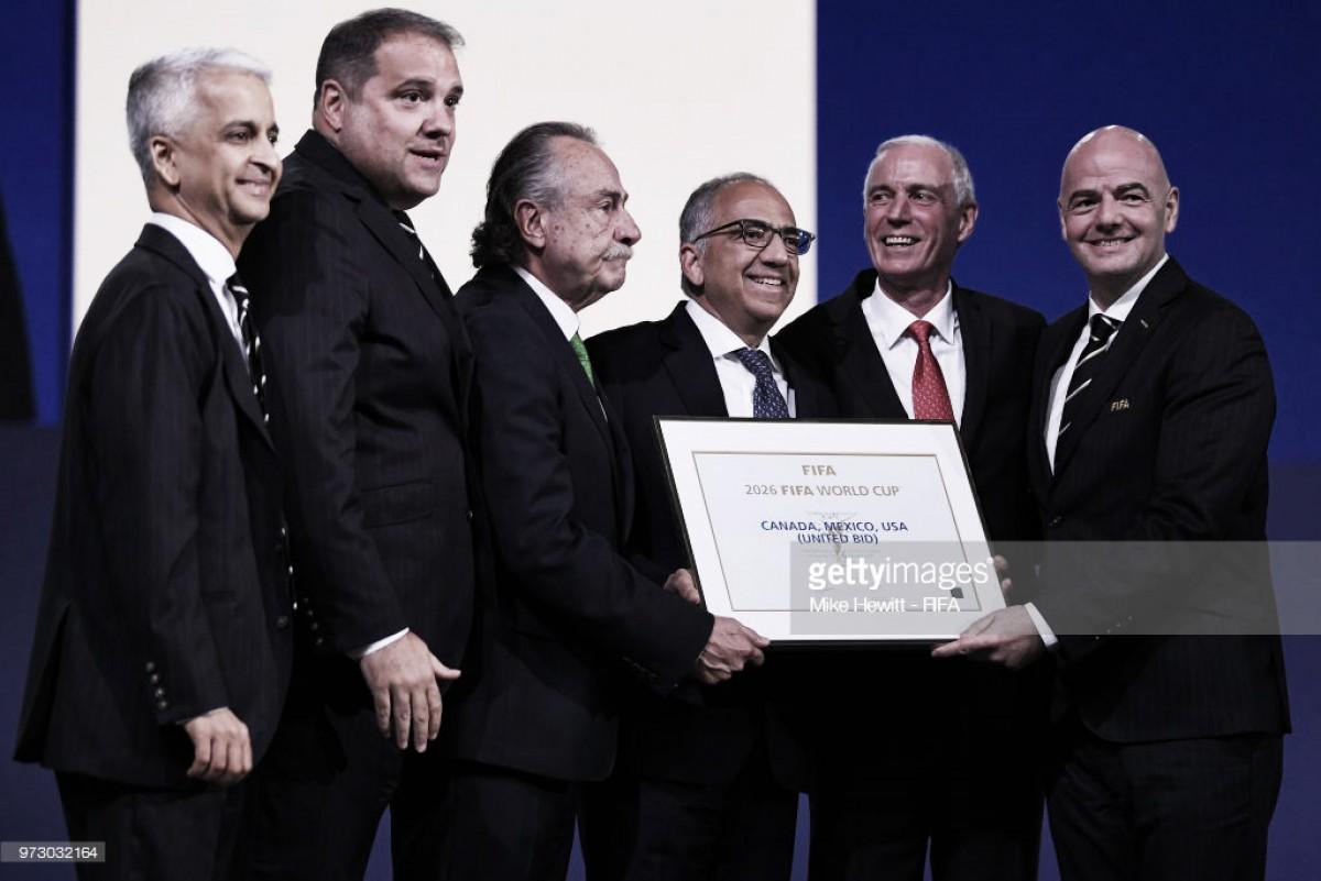 EUA, Canadá e México organizam o Mundial de 2026