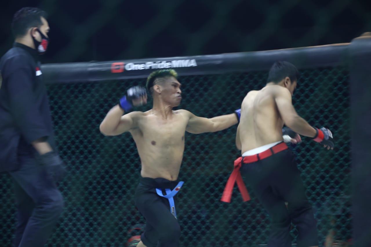 Silat Bebas Ditampilkan Di One Pride MMA