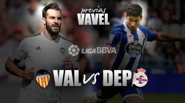 Valencia - Deportivo de La Coruña: resaca europea en Mestalla