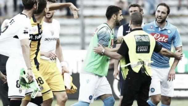 Parma - Napoli, si placano gli animi. Niente Inchiesta