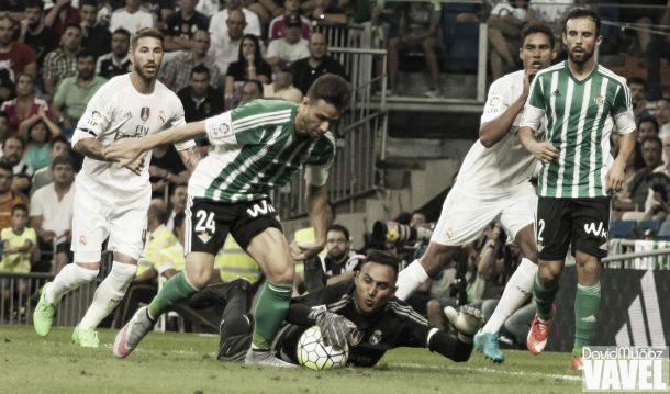 Real Madrid - Real Betis, puntuaciones Real Betis, jornada 2