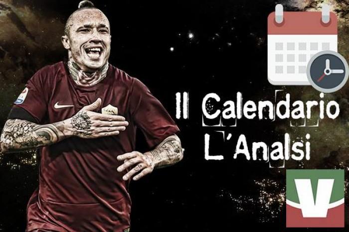 Roma, il calendario ai raggi X