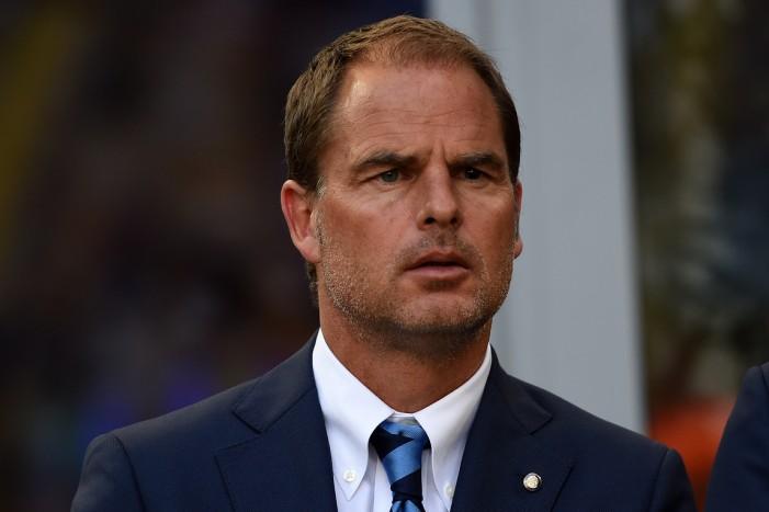 """Inter, De Boer nel post: """"Vittoria di squadra"""""""