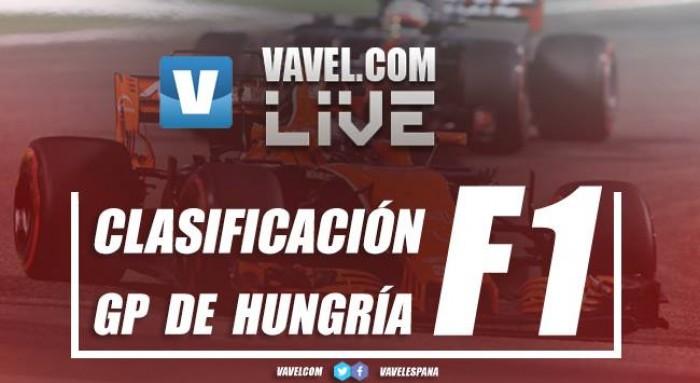 Ferrari bloquea la primera línea con Vettel a la cabeza