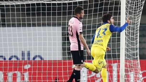 Chievo, ci pensa Paloschi: 1-0 al Palermo