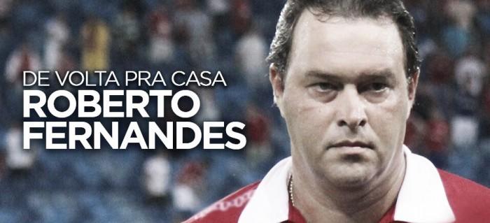 """Roberto Fernandes é apresentado e destaca missão de evitar queda: """"Se não acreditasse não estaria aqui"""""""
