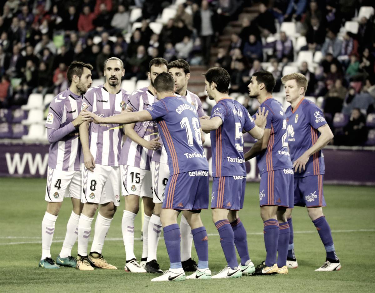 El Real Valladolid sale mal parado en el Carlos Tartiere