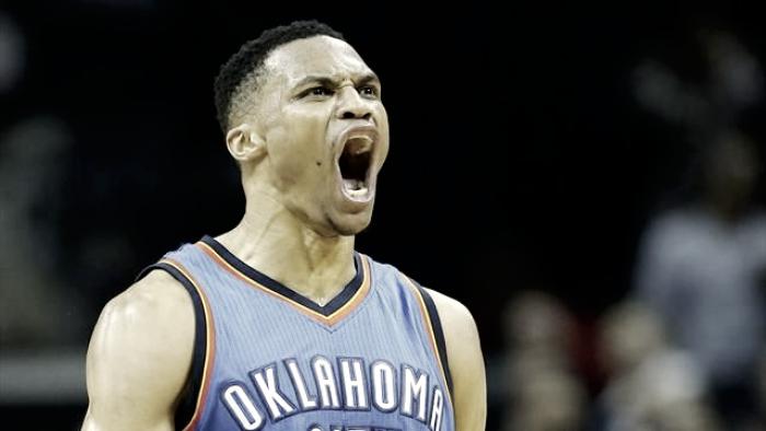 NBA - Westbrook nella storia: tripla doppia di media raggiunta