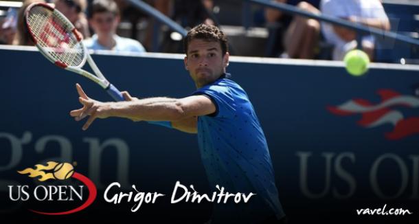US Open 2015: Grigor Dimitrov, o desejo de repetir no profissional o sucesso do juvenil