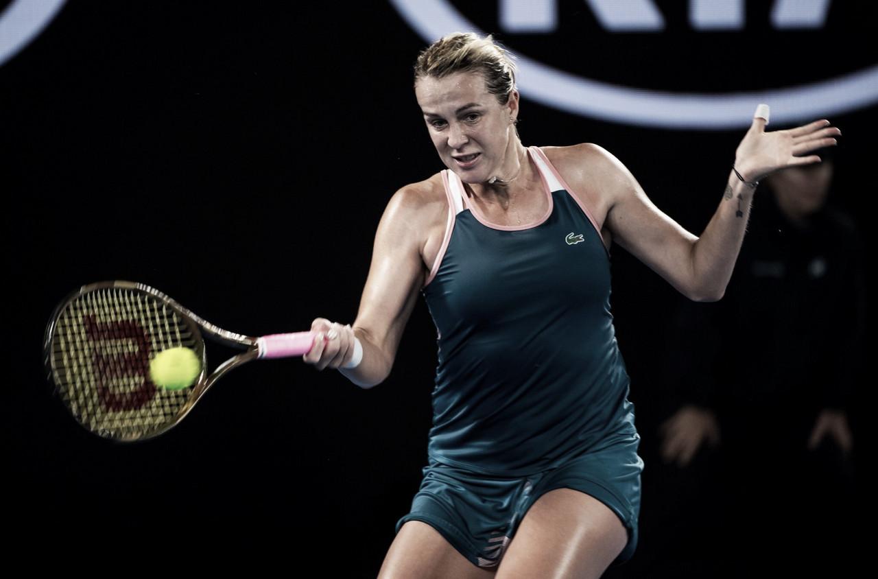 Pavlyuchenkova vira e despacha Stephens rumo às quartas do Australian Open