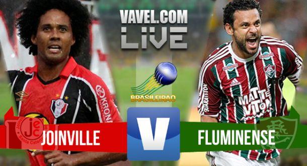 Resultado de Joinville x Fluminense pelo Campeonato Brasileiro 2015 (2-1)