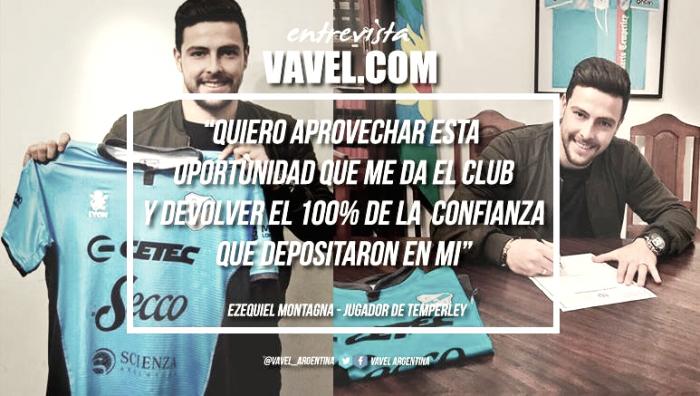 """Ezequiel Montagna: """"Es un grupo excelente desde lo humano y lo futbolístico"""""""