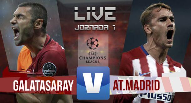 Resultado Galatasaray - Atlético de Madrid en Champions League 2015 (0-2)