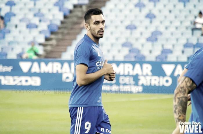 Borja Iglesias, el mejor frente al Córdoba según la afición