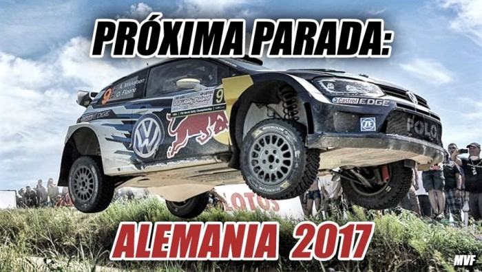 Próxima Parada: ADAC Rally de Alemania 2017