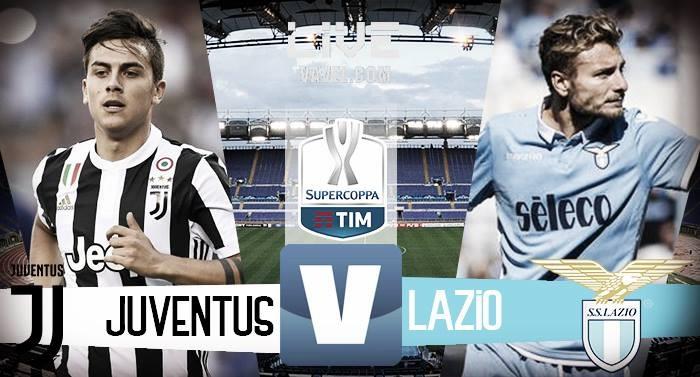 Lazio - Juventus in diretta, LIVE Supercoppa Italiana 2017 (3-2): Murgia la decide!