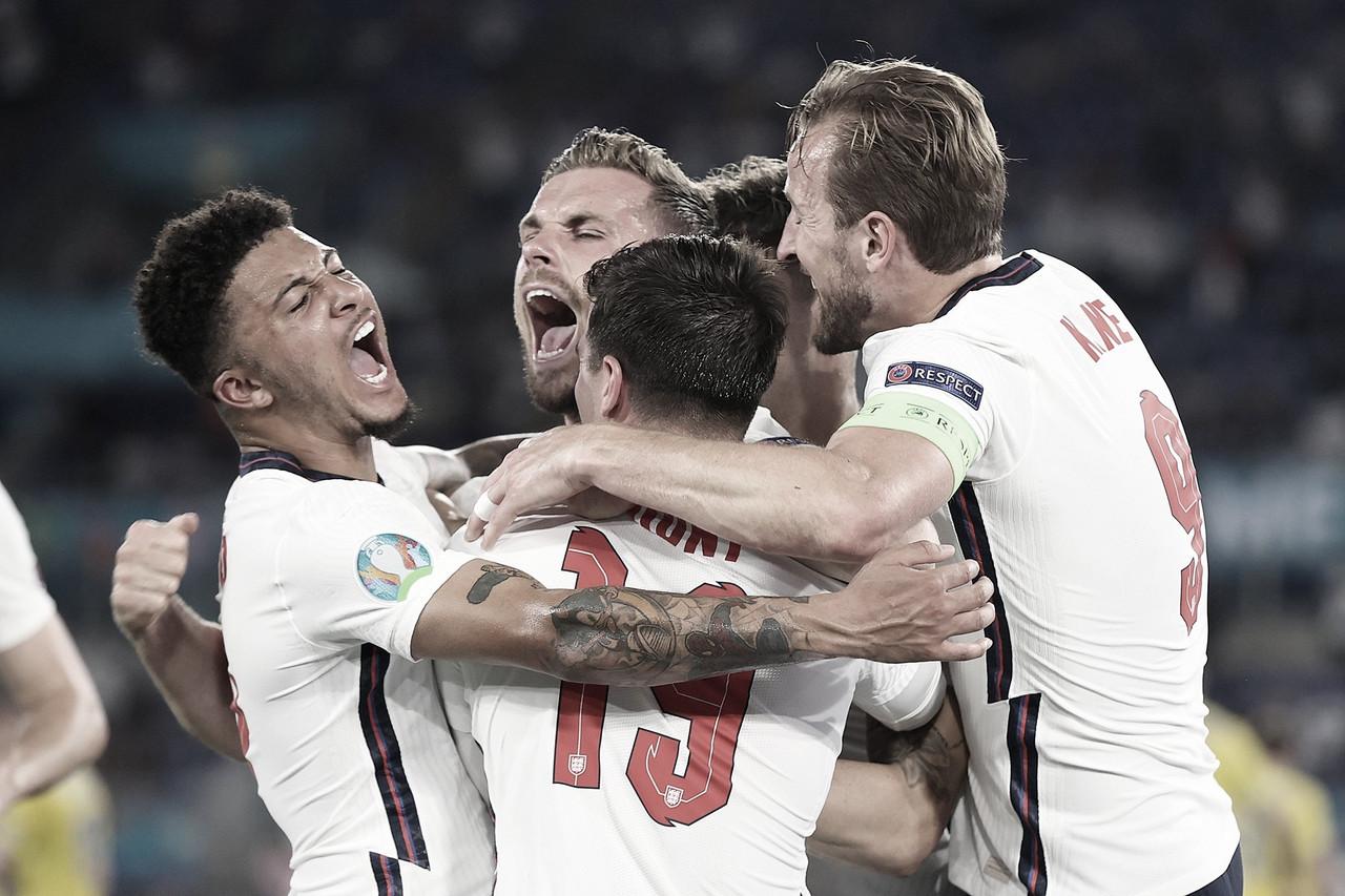 El camino de Inglaterra a la final de la UEFA Euro 2020