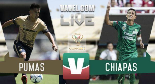 Resultado Pumas - Jaguares de Chiapas en Copa MX 2015 (3-2)