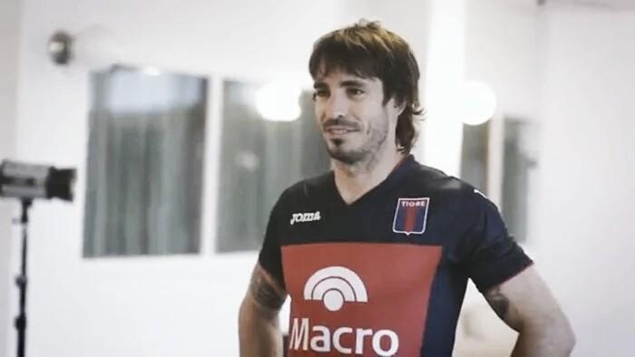 Martín Galmarini a quince años de su debut en Tigre