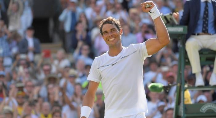 Na estreia em Wimbledon, Nadal atropela Millman em sets diretos