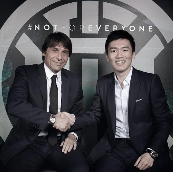 Internazionale anuncia Antônio Conte como novo treinador