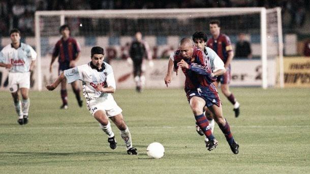 El día en que Ronaldo iluminó Compostela