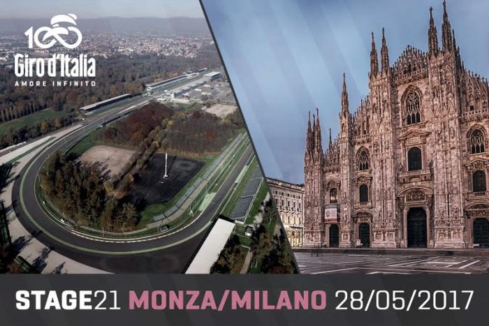 Etapa 21 del Giro de Italia EN VIVO: crono Monza - Milano 2017