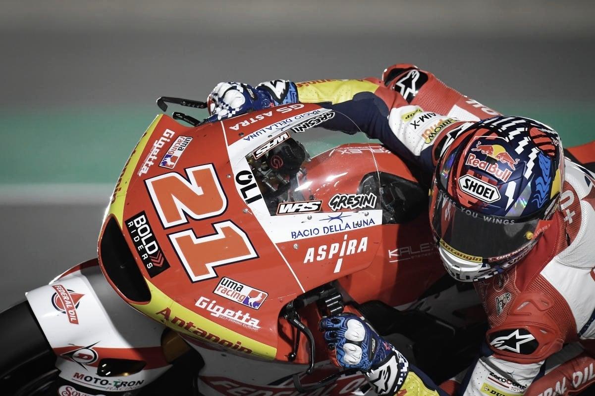 FP1 y FP2 GP de Doha: Di Giannantonio manda