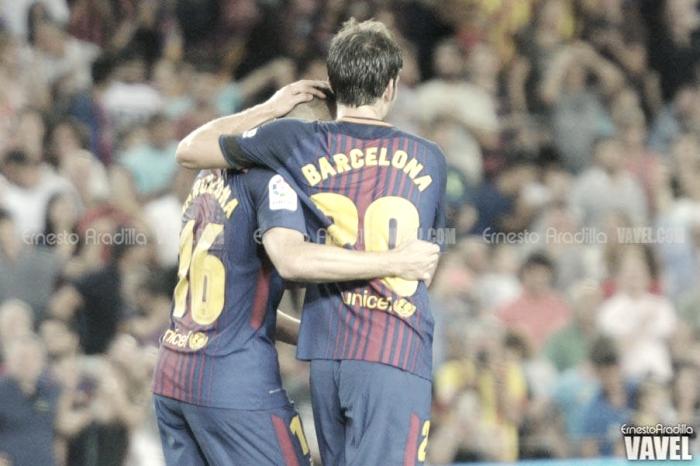El Barça se impone en el estreno liguero