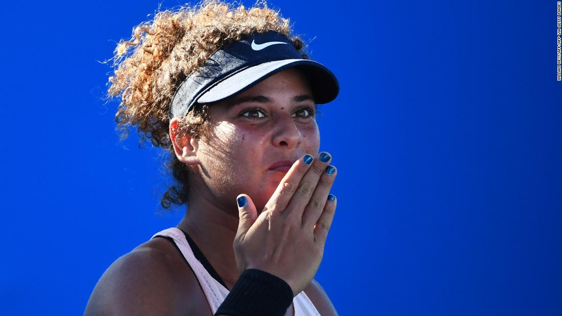 2021 Australian Open: Mayar Sherif makes history for Egypt, hopes to go further