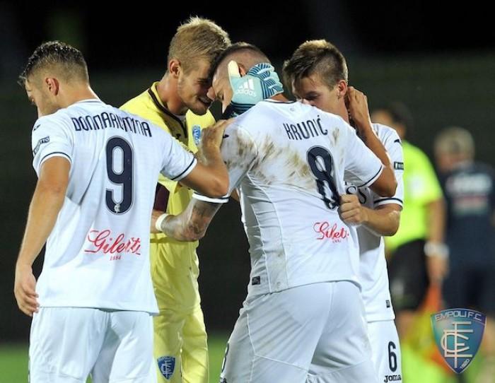 SERIE B - Anticipo: Empoli 3-2 Bari, trionfo azzurro al 'Castellani'