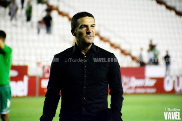 """Luis Carrión: """"Higinio es el mejor jugador del equipo"""""""