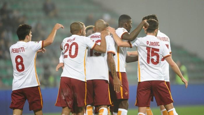 La Roma lascia di sasso il Sassuolo: 0-2